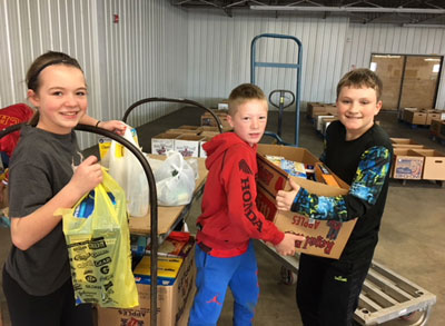 Meadow View school donates to Stella Wells